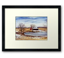 Martin Farm Framed Print