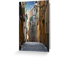 French Solitude Greeting Card
