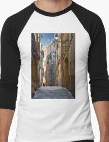 French Solitude Men's Baseball ¾ T-Shirt