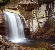 looking glass falls by J.K. York