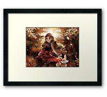 Pokemon Digital Painting Framed Print