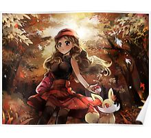 Pokemon Digital Painting Poster