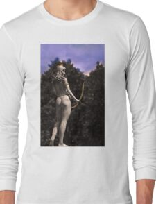 Diana, Goddess Of The Hunt III Long Sleeve T-Shirt