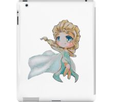 Chibi Snow Queen Elsa iPad Case/Skin