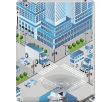 Urban crossroads iPad Case/Skin