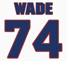 National football player Todd Wade jersey 74 by imsport