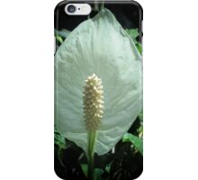 Peace Lily - Vignette Photography iPhone Case/Skin