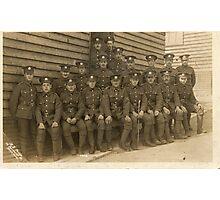 WW1 Manchester Regt Photographic Print