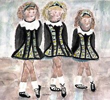 Three Irish Lasses by AngieDavies