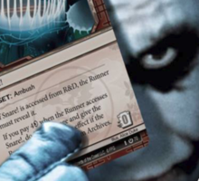 Joker's snare Sticker
