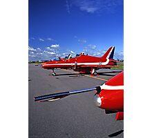 Red Arrows Flightline Photographic Print