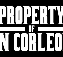 Property of Don Corleone by alfiesaxby
