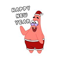 Happy New Year  Patrick Star  by LAZARE-TENDO