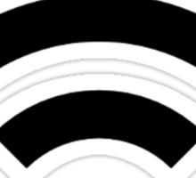 Wifi Signal Design Sticker