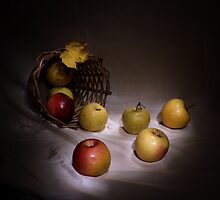 The apples basket by VasiliiRussia