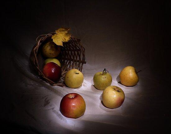 The apples basket by VasiliiRussia