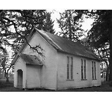 Great grandmas church Photographic Print