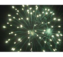 Firework2 Photographic Print