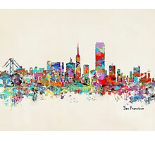 San Francisco California sklyine Photographic Print