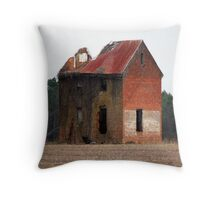 The Haunted Ramsey House Throw Pillow
