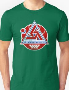 Alien Mars & Titan Colony Logo (scuffed) T-Shirt