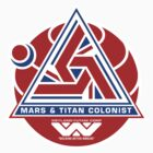 Alien Mars & Titan Colony Logo by Pango
