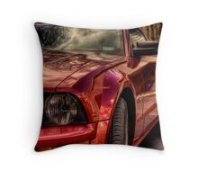Mustang Mary Throw Pillow