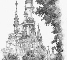 Sleeping Beauty Castle by Lightrace