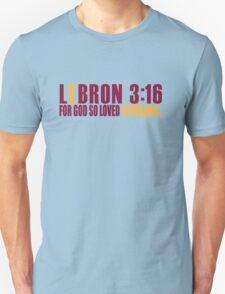 Lebron James For God So Loved Cleveland T-Shirt