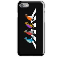 Beetles on Abbey Road iPhone Case/Skin