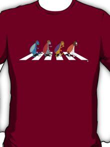 Beetles on Abbey Road T-Shirt