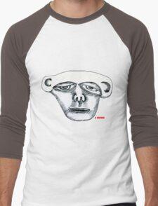 Monkey Head Men's Baseball ¾ T-Shirt