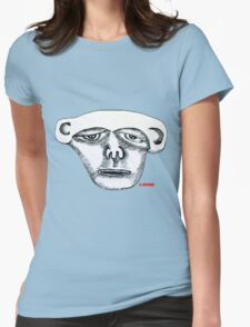 Monkey Head Womens Fitted T-Shirt
