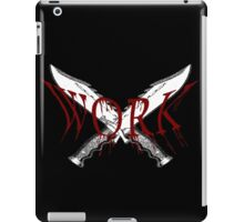Knife Work iPad Case/Skin