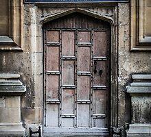 Bodleian Library School of Medicine Door by Nicole Petegorsky