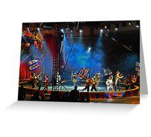 One-ring circus Greeting Card