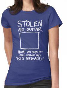 Stolen Air Guitar Womens Fitted T-Shirt