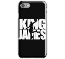 Lebron James - King James iPhone Case/Skin