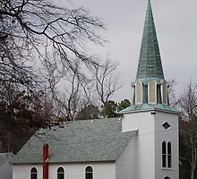 Old Country Church by madman4