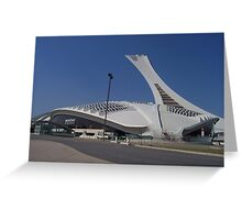 Olympic Buildings Greeting Card