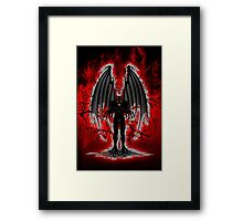 Evil Demon Spirit Framed Print