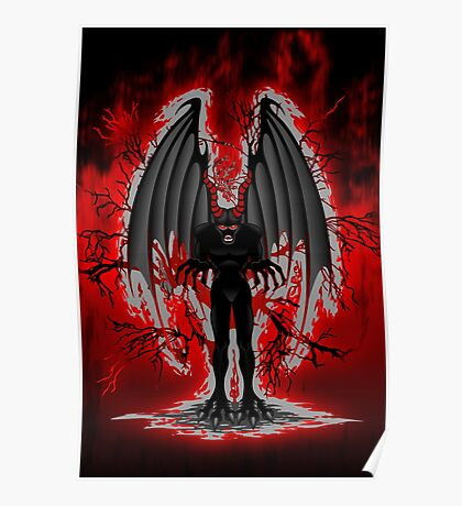 Evil Demon Spirit Poster