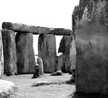 Inside Stonehenge by Allison Lane