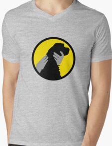 PET THE DOG  Mens V-Neck T-Shirt