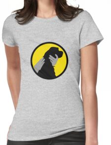 PET THE DOG  Womens Fitted T-Shirt