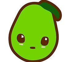 Kawaii Pear by sweetkawaii