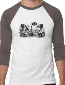 They call it BASS Men's Baseball ¾ T-Shirt
