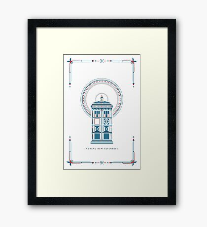 Doctor Who Christmas Framed Print