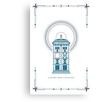 Doctor Who Christmas Canvas Print