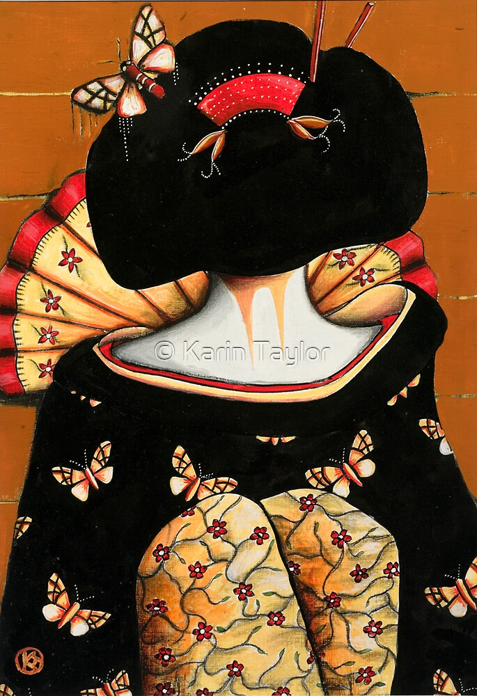 Geisha Girl Prints by © Karin Taylor
